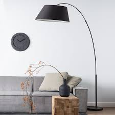 large arc floor ls scalloped l shades light bulb styles