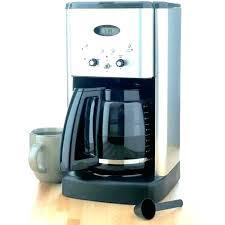 Cuisinart Coffee Maker Instructions Espresso Machine Manual Impressive Winsome User 12 Cup