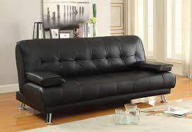 Delaney Sofa Sleeper W Arms by Faux Leather Convertible Sofa Centerfieldbar Com