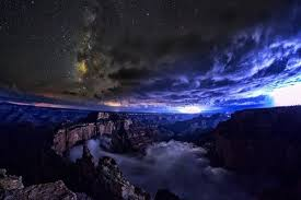 Monsoon Season Thunderstorms Over Grand Canyon Arizona From SKYGLOW A Hardcover Photo Book And Timelapse Video Series By Filmmakers Harun