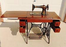 Vintage Kenmore Sewing Machine In Cabinet by Sewing Machine Cabinet Ebay