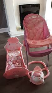 Baby Annabell Accessories In WA8 Ditton For £35.00 For Sale - Shpock Adora Baby Doll High Chair Pink Feeding 205 Inches Chicco Polly High Chair Cover Replacement Padded Baby Accessory 2 Start Highchair Fancy Chicken Babyaccsorsie Best Chairs The Best From Ikea Joie Babybjrn Qoo10 Kids Booster Cushionhigh Seatding Cushion Taupewhite Products And Accsories For Floral American Girl Wiki Fandom Powered By Wikia Blackhorse Stroller Seat Cushion Pad Accsories Amazoncom Jeep 2in1 Shopping Cart Cover Chairs Babyography Foldable Highchairs Page 1 Antilop Highchair Klamming Etsy