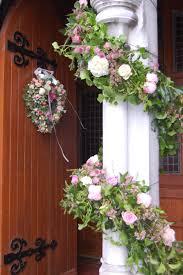 Pillar garland and heart wreath Kanturk Church Flowers from The