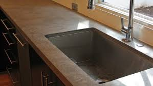 Pull Down Kitchen Faucets Pros And Cons by Custom Kitchen Portfolio By Concrete Wave Design Concrete