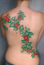 Elegant Vine Tattoos 29
