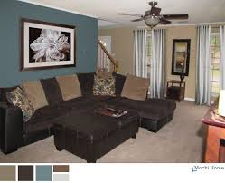 Teal Color Living Room Ideas by Teal And Brown Living Room Peacock Teal Chocolate Brown And