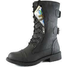 amazon com soda womens dome combat boots mid calf