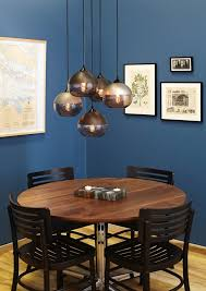 cluster pendants dining room contemporary with multi light pendant