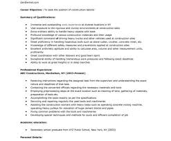 construction laborer resumes construction free resume images