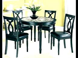 Small Round Dining Table Set Kitchen With Bench Black Tables Room And Chairs Sets