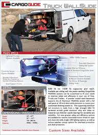 TRUCK WALLSLIDE™   CargoGlide Bestchoiceproducts Best Choice Products Transport City Car Carrier Heavy Duty Drawer Slide Self This Is A Great Link To The Heavy Semi Truck Slides Blocks Traffic Near North Split It Truck Islide Pickup Under Semi Bed For Sale Diy Cargo Ease The Ultimate Cargo Retrieval System Commercial Series Bed Slide Allyback Pick Up Moco Show News Vehicles Contractor Talk 5th Wheel Tool Box Boxes Hpi