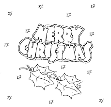 Merry Christmas 2015 Coloring Pages