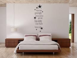 wandtattoo sterne schlafzimmer