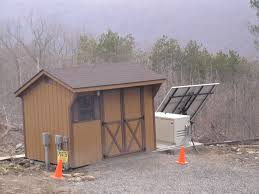 Small Generator Shed Plans by Off Grid Cabin Power Shed Solar U0026 Wind Fx