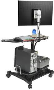 Surfshelf Treadmill Desk Australia by Height Adjustable Laptop Stand Printer Shelf Mouse Pad U0026 Cup