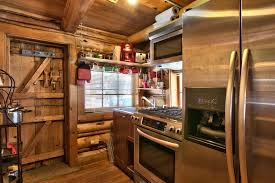 Log Cabin Kitchen Images by Gallery Lake Tahoe Log Cabin Small House Bliss