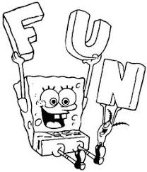 Spongebob Coloring Pages With Colors