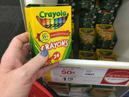 Crayola Bathtub Crayons Target by Staples Price Match Deal 24 Count Crayola Crayons Only 31 Per