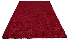 hochflor teppiche rot kaufen baur