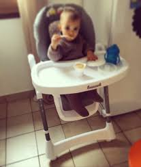 chaise haute autour de b b concours et test la chaise haute barbapapa autour de bébé