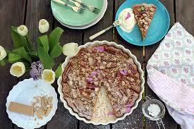 rhabarberkuchen mit weißer schokolade rezept zotter schokolade