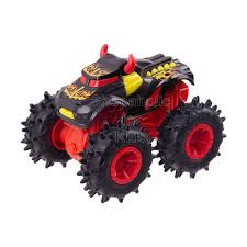 100 Hot Wheels Monster Truck Toys Wrecking Vehicle Collection Steer Clear