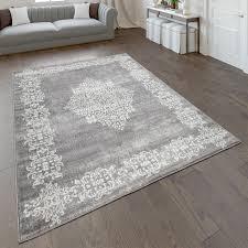 teppich wohnzimmer kurzflor mit modernem orientalischem