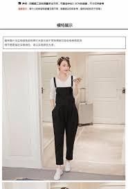 m xxl plus size cotton linen maternity pants overalls for pregnant