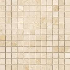 1 x1 mosaic crema marfil on designer pages