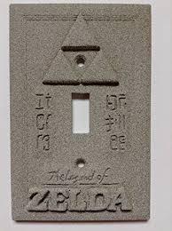 Zelda Triforce Lamp Amazon by Amazon Com Legend Of Zelda Stone Copper Patina Light Switch Cover