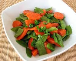 cuisiner pois mange tout recette carottes et pois mange tout au beurre