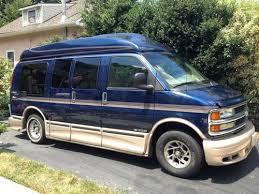 2002 Chevy Chevrolet Express High Top Luxury Conversion Van 78k Gorgeous