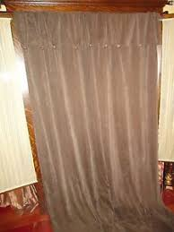 Tommy Hilfiger Curtains Special Chevron by Croscill Chevron Chenille Pair Curtains Panels Mocha Brown Rayon