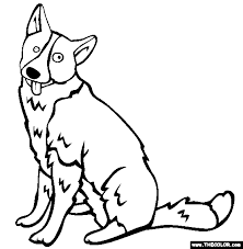 Beautiful Decoration Dog Pictures To Color Dogs Online Coloring Pages Page 1 Excellent Ideas Free Printable