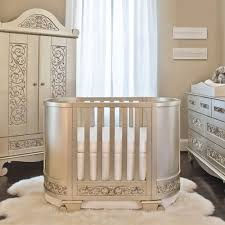 Chelsea Darling Cradle To Crib In Antique Silver and Nursery