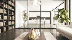 separation cuisine salon vitr cloison vitr e cuisine cloisons et s parations en bois placo ou pl