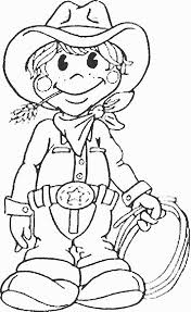 So Why Not Engage Your Kid With Some Cowboy Coloring Pages Printable Here Are Top 10 Sheets