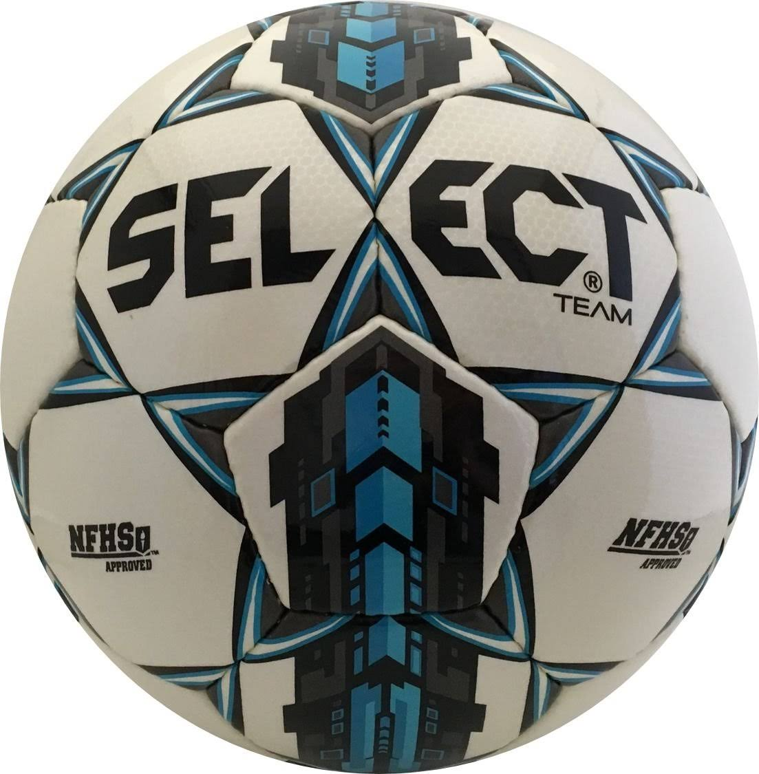 Select Team Soccer Ball - White/Blue
