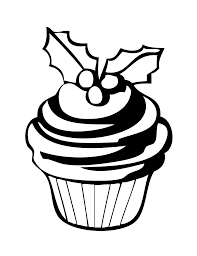 Cupcake Coloring Pages Printable