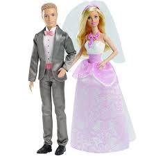 Kit Boneca Barbie Noiva Ken Casamento Mattel R 15999 No