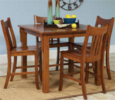 All Wood Dining Table And Chairs