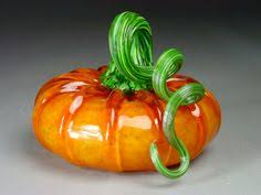 Blown Glass Pumpkins Boston by Glass Pumpkin By Jonathan Winfisky Dark Sapphire By Growgallery