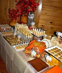 Our Wedding Dessert Table Fall Ideas Nothing Bakes Like A Parrott Autumn Inspired