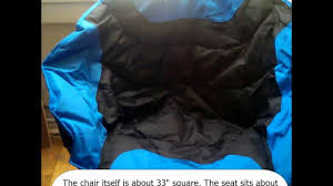 Rei Flex Lite Chair Beach by Kingcamp 260lbs Moon Leisure Camping Chair With Carry Bag Youtube
