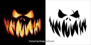 Scary Vampire Pumpkin Stencils by 10 Free Scary Halloween Pumpkin Carving Patterns Stencils