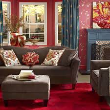 Home Decor Fabrics Interior Living Room Items With Floral Print Pink Wallpaper Intended For