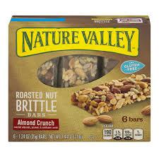 Nature Valley™ Roasted Nut Crunch Bar Gluten Free Almond Crunch 6