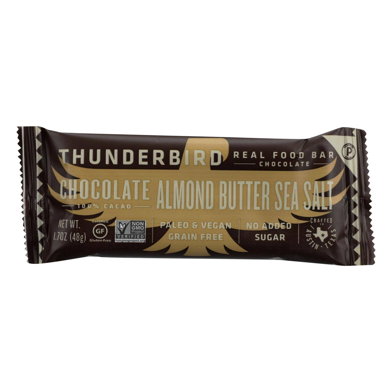 Thunderbird Chocolate Bar, Almond Butter Sea Salt - 1.7 oz