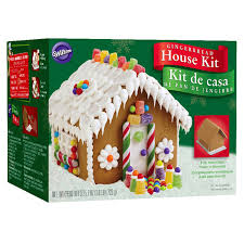 Meijer Home Wall Decor by Wilton Ready To Decorate Gingerbread House Decorating Kit Meijer Com