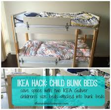 Bunk Bed With Trundle Ikea by Space Saving With Kids Toddler Bunk Beds The Minimalist Mom